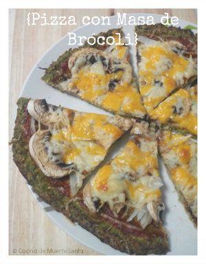 Cómo preparar una deliciosa Pizza con Masa de Brócoli o Coliflor (sin gluten)