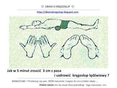 Dbam o Kręgosłup : Jak w 5 minut uzdrowić kręgosłup lędźwiowy i zrzucić 3cm z pasa ?