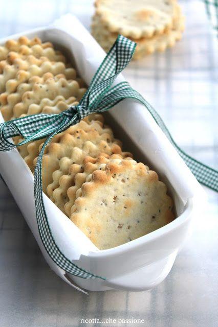 ricotta...che passione: Crackers leggeri per ripartire