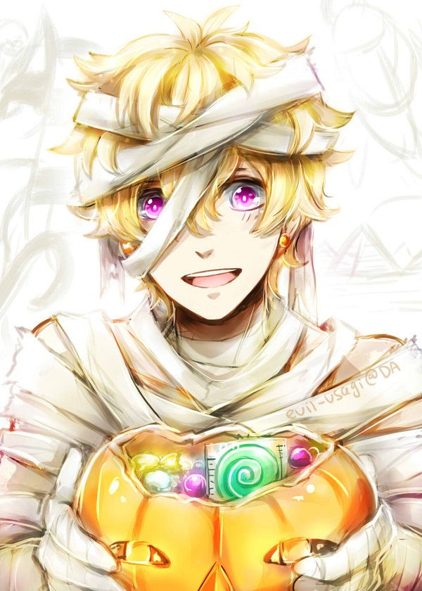 Free!Halloween ~ Nagisa by Evil-usagi.deviantart.com on @deviantART