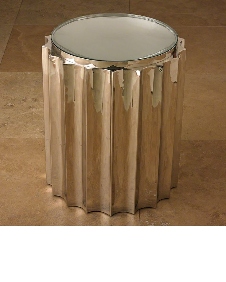 InStyle Decor.com Beverly Hills Side Tables, End Tables, Lamp Tables,