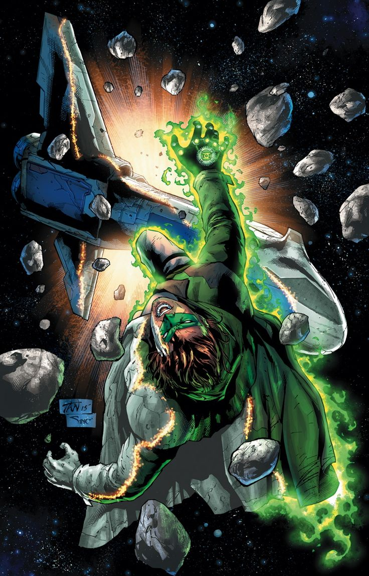 GREEN LANTERN #42 Written by ROBERT VENDITTI Art by BILLY TAN and MARK IRWIN Cover by BILLY TAN