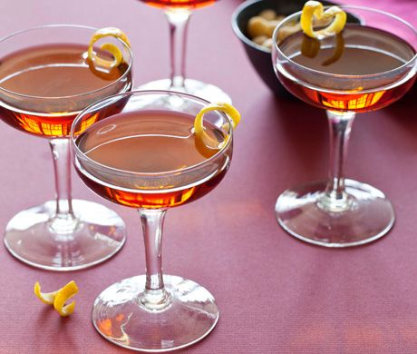 Raise a dram with a Bobby Burns cocktail. | 24 Ways To Have The Ultimate Burns Night Supper