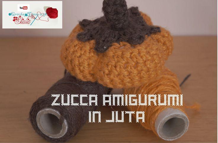 Zucca Amigurumi in juta