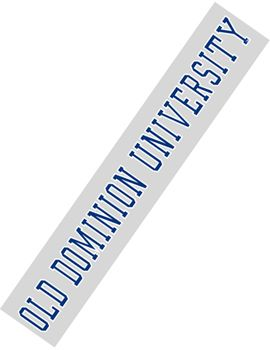 Old Dominion University Strip Decal | Old Dominion University