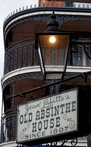 One of the most historical stops in the French Quarter is the Old Absinthe House, a landmark located on the corner of Bourbon and Bienville. The bar was named the Absinthe Room when drinking absinthe grew in popularity in New Orleans.