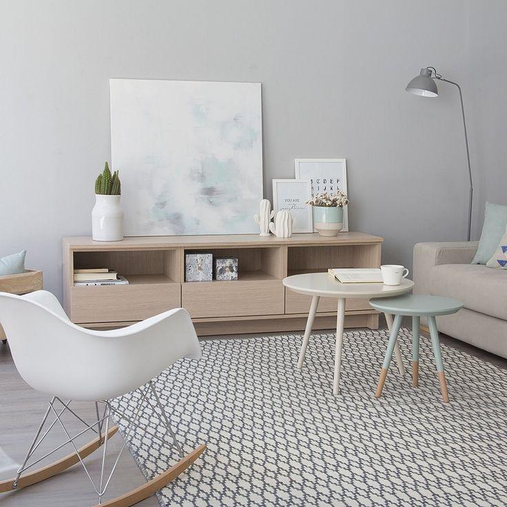 17 mejores ideas sobre mueble tv en pinterest gabinete for Mueble nordico salon
