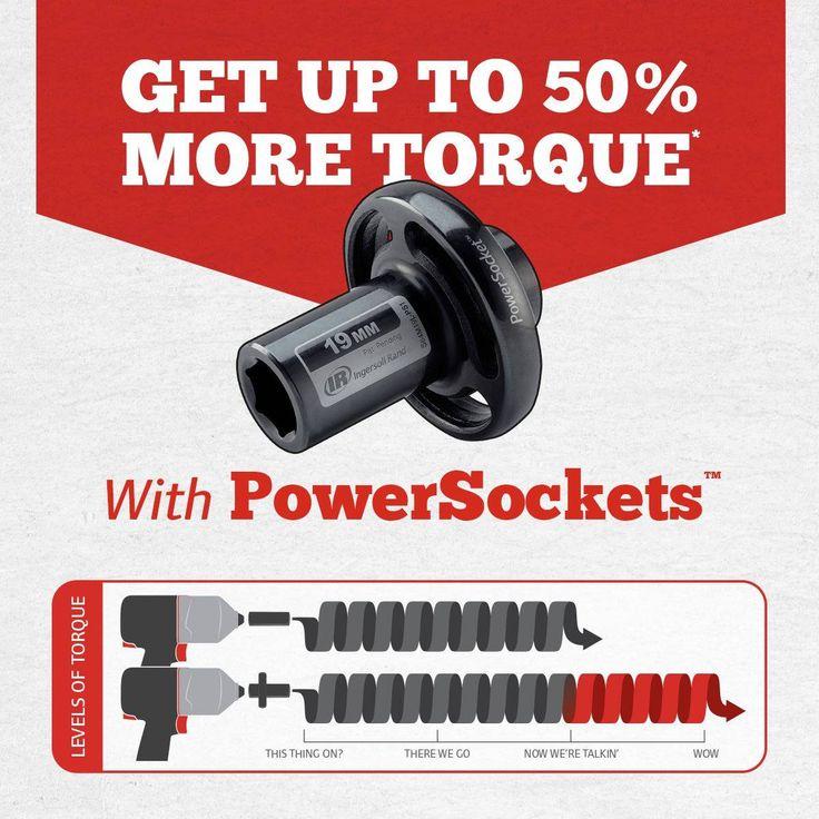 Nuovo sistema PowerSocket™ di Ingersoll Rand. Adesso che lo sai potrai ancora fare a meno?
