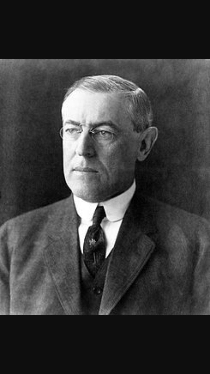 Thomas Wilson, rappresentante degli Stati Uniti nella conferenza della pace.
