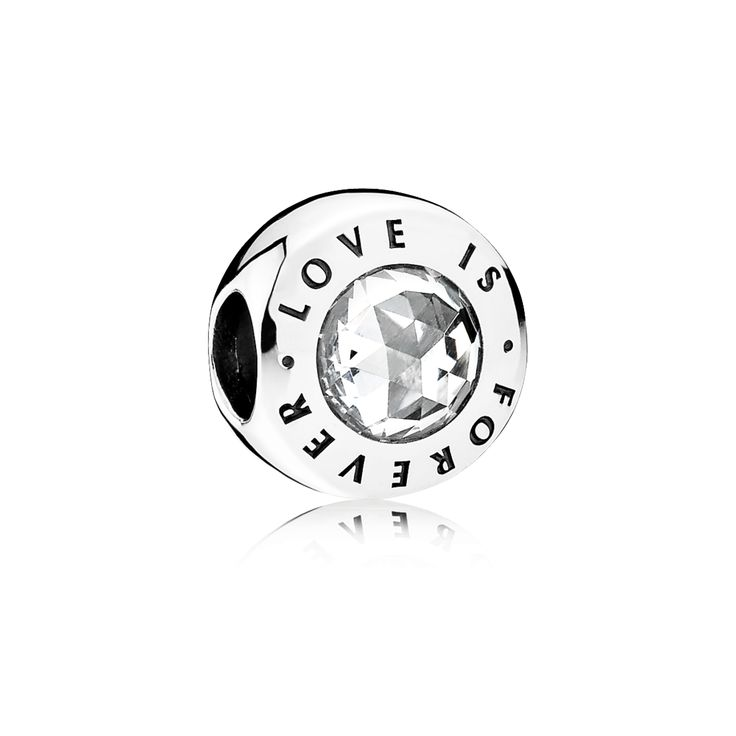 PANDORA | Love is Forever, Clear CZ