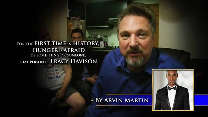 For the first time in history, hunger is afraid of something or someone that pers is Tracy Davison. -Arvin Martin #60SecondMillionaireTV #RevMediaUSA #MediaTeam @tracy_davison #tracy_davison #TracyDavison