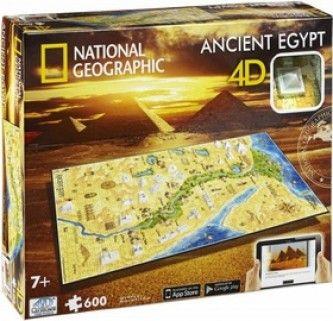 4D City Puzzle Starověký Egypt