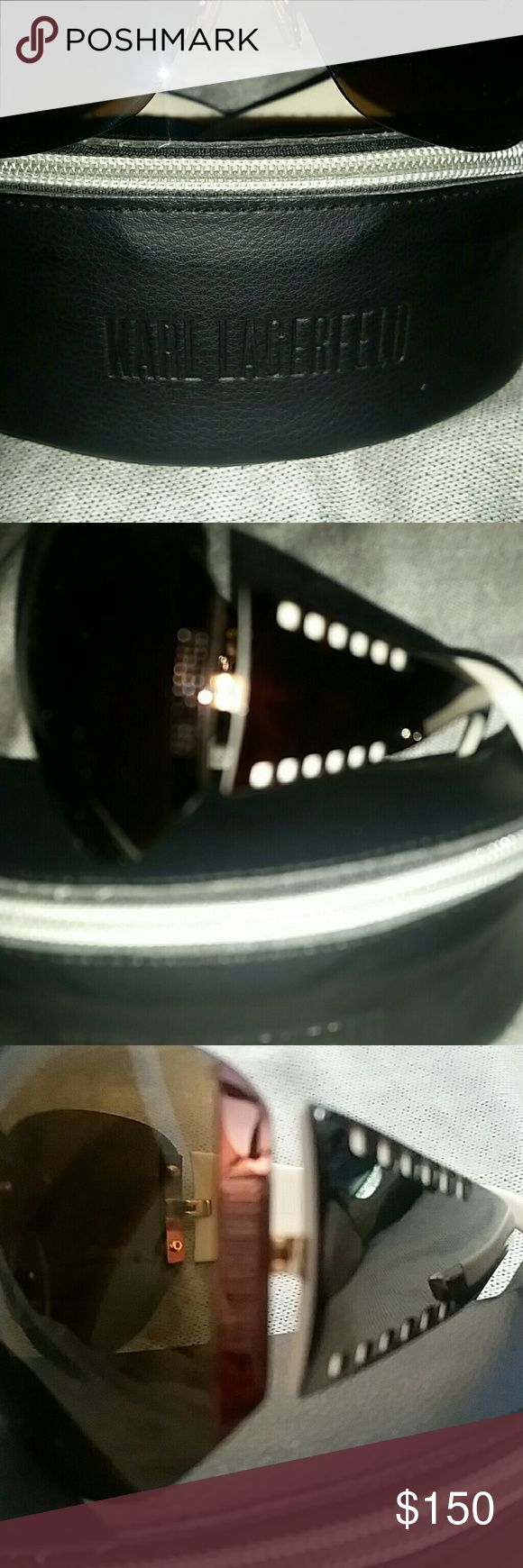 KARL LAGERFELD KL sunglasses. Gifted and unfortunately not my style. Karl Lagerfeld Accessories Sunglasses