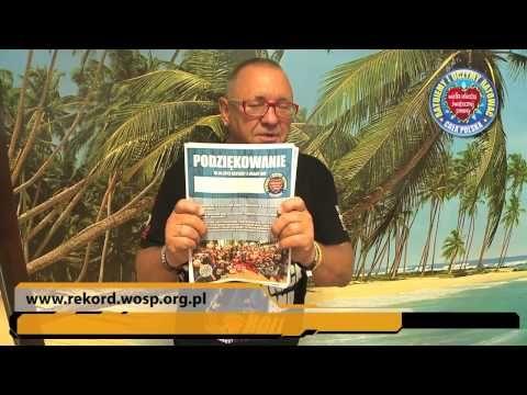 Jurek Owsiak dziękuje za rekord