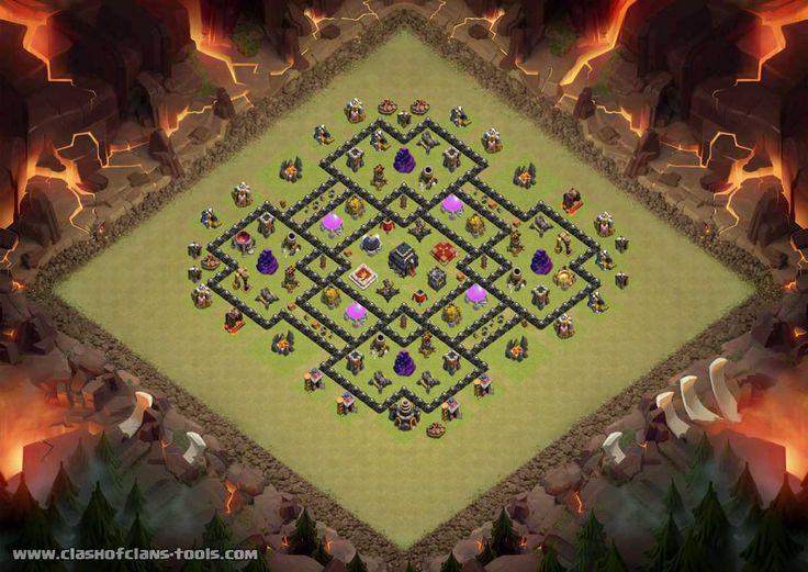 Rt Townhall 9 War Base Clash of Clans Layout created by Waeelmarouf. Try it out in the attack simulator, see previous attacks or modify it with the base builder