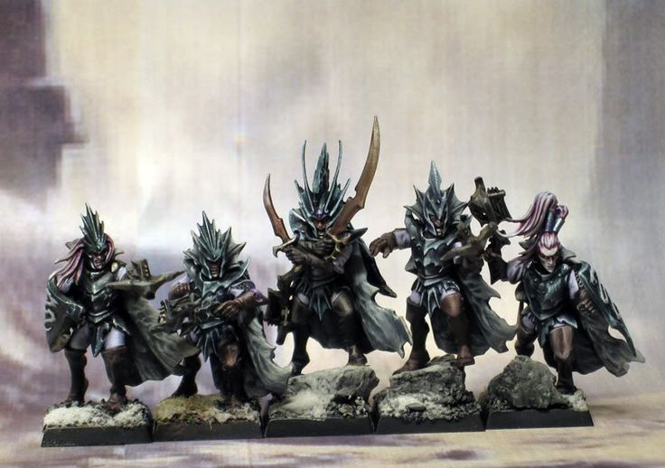warhammer dark elves miniatures - Google Search
