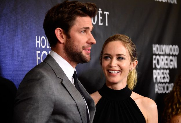 """It's a universally acknowledged truth that when you think """"perfect couple,"""" you think """"Emily Blunt and John Krasinski."""""""