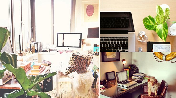#MyDomaine: 7 Readers' Most Stylish Offices