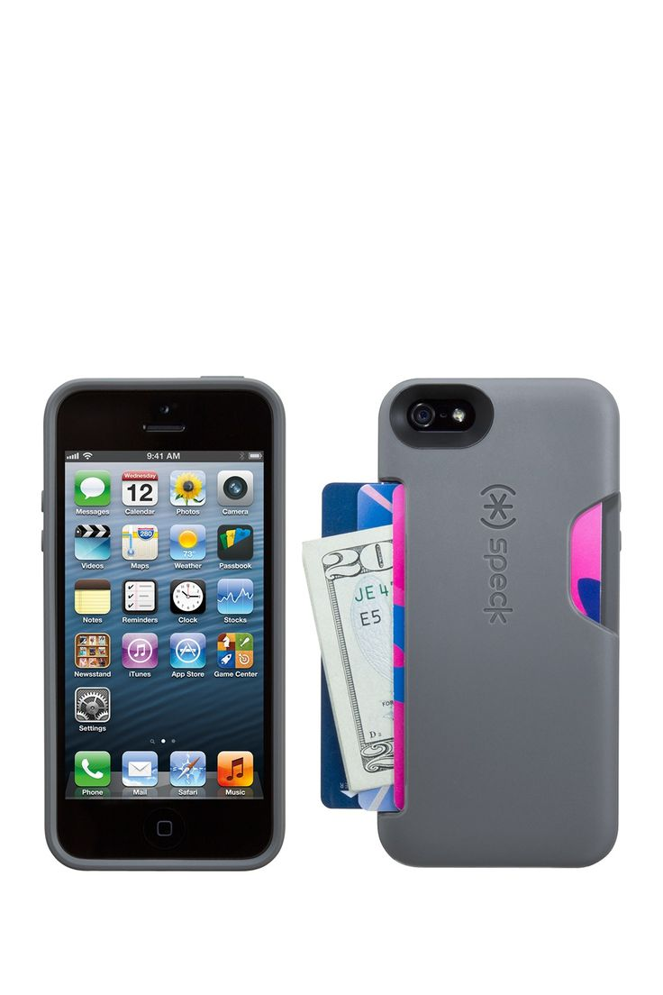 Speck | iPhone 5/5s SmartFlex Phone Cover with side loading slot for cards and cash |