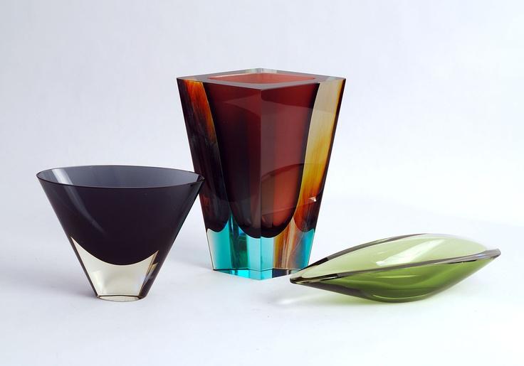 Freeforms - Nuutajarvi Glass, Finland