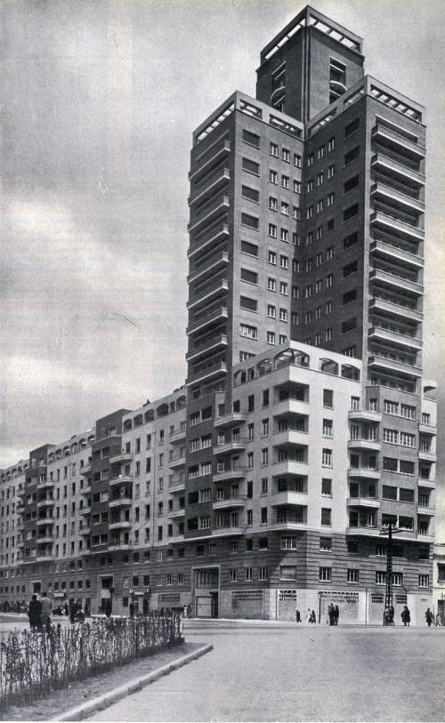 Avenida de América en 1955