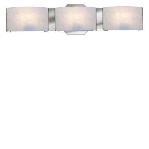 Bathroom Vanity Light Chrome 3 Light Bar Contemporary Lighting Hardware Decor…