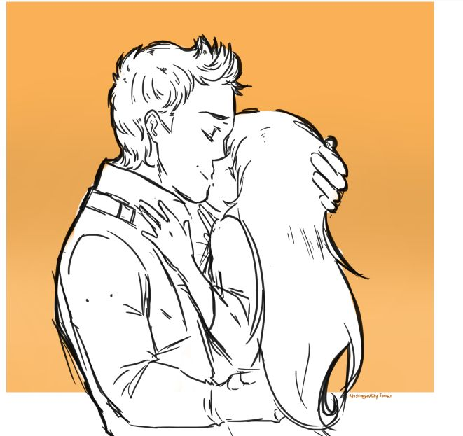 -Finnick Odair and Annie Cresta from Hunger Games-