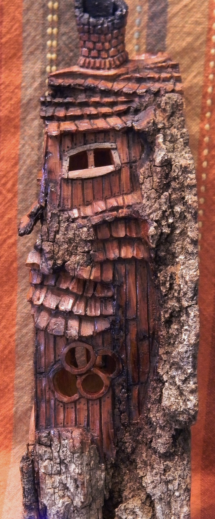 83 Best Images About Cottonwood Bark Carvings On Pinterest