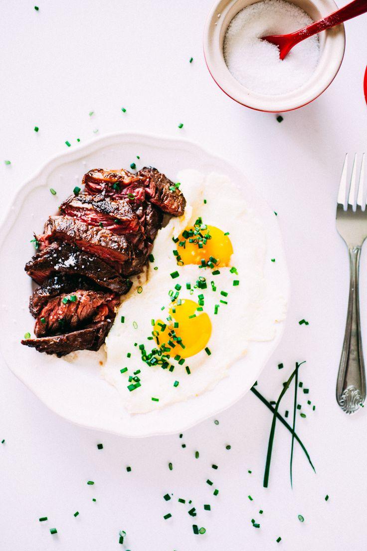 Steak and Eggs Recipe - The Crepes of Wrath #gotowanie #Amica #inteligentnystyl www.amica.com.pl