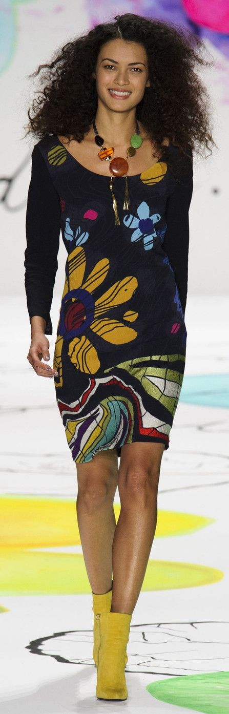 Desigual Fall 2015 ~ New York Fashion Week