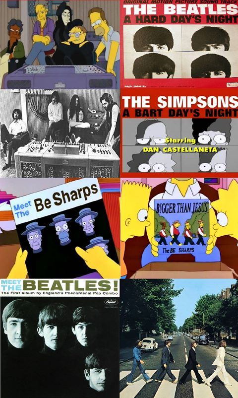 Image result for the beatles references