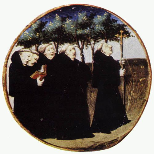 a look at the benedict monks After several clashes with some monks  the tradition of scholastica and benedict  but it also allows a person to look out to see the light after scholastica.