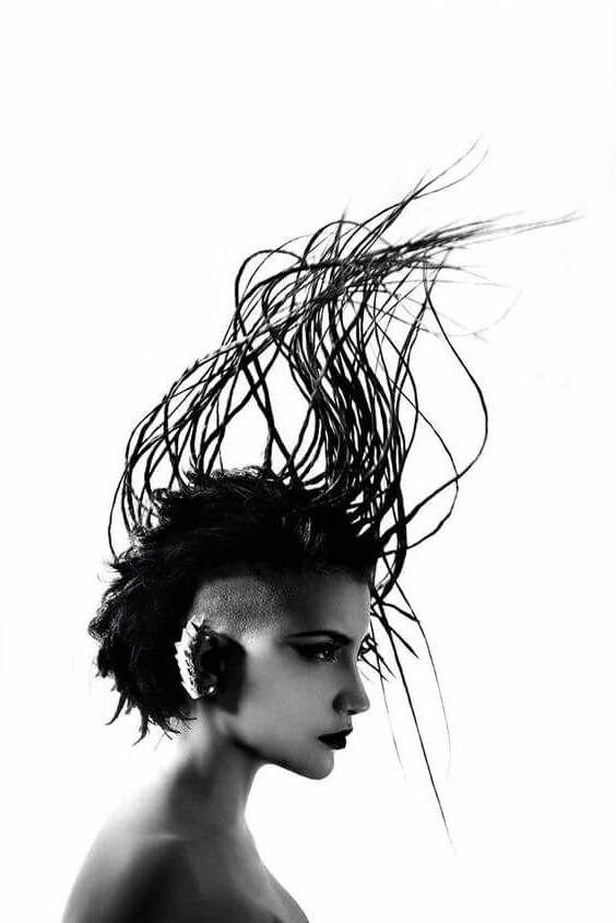 Recopilación de los peinados extravagantes más raros | Los Peinados