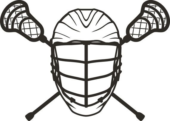 Items similar to Lacrosse LAX Sports - Helmet Sticks - Vinyl Wall Art Decal  Boys Room Home Decor Teens Gift Present on Etsy