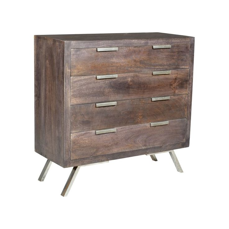 Union Rustic Norma 4 Drawer Accent Chest | Wayfair
