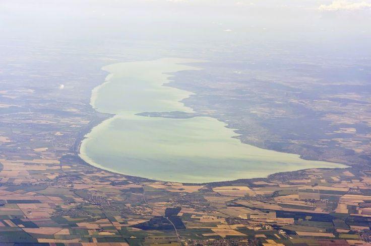 Balaton, légifelvétel