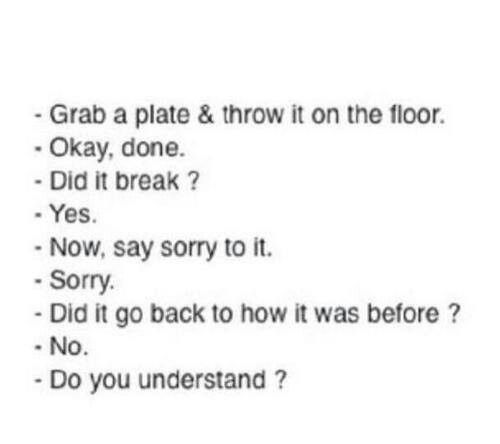 Sorry Quotes Tumblr: People Need 2 Learn, Sorry Doesn't Fix Everything