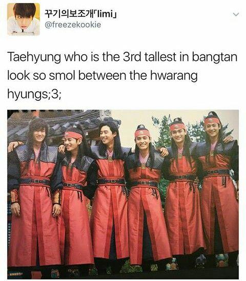 Taehyung is so cute #Hwarang