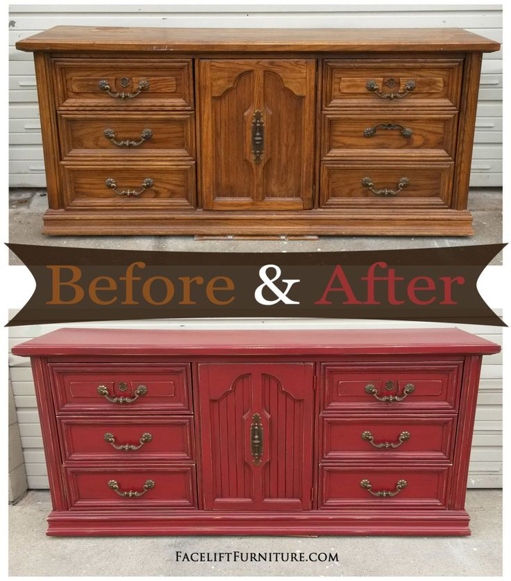 25 Best Ideas about Red Distressed Furniture on Pinterest  Chalk