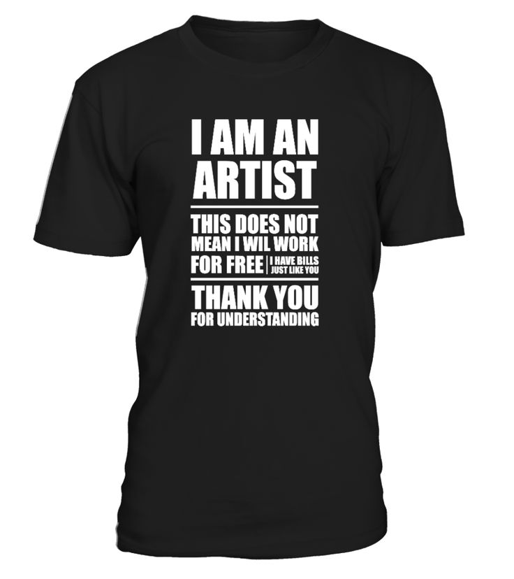 I AM AN ARTIST by lorenzoArs | Teezily