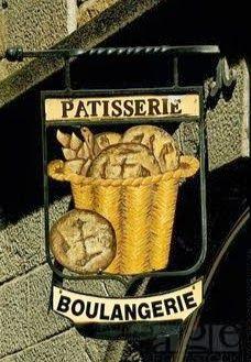"""*Enseigne """"Patisserie . Boulangerie"""" St. Malo, Bretagne France*"""