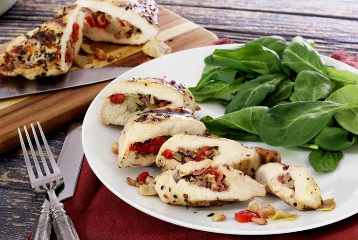 Paleo Crab Stuffed Chicken Breasts