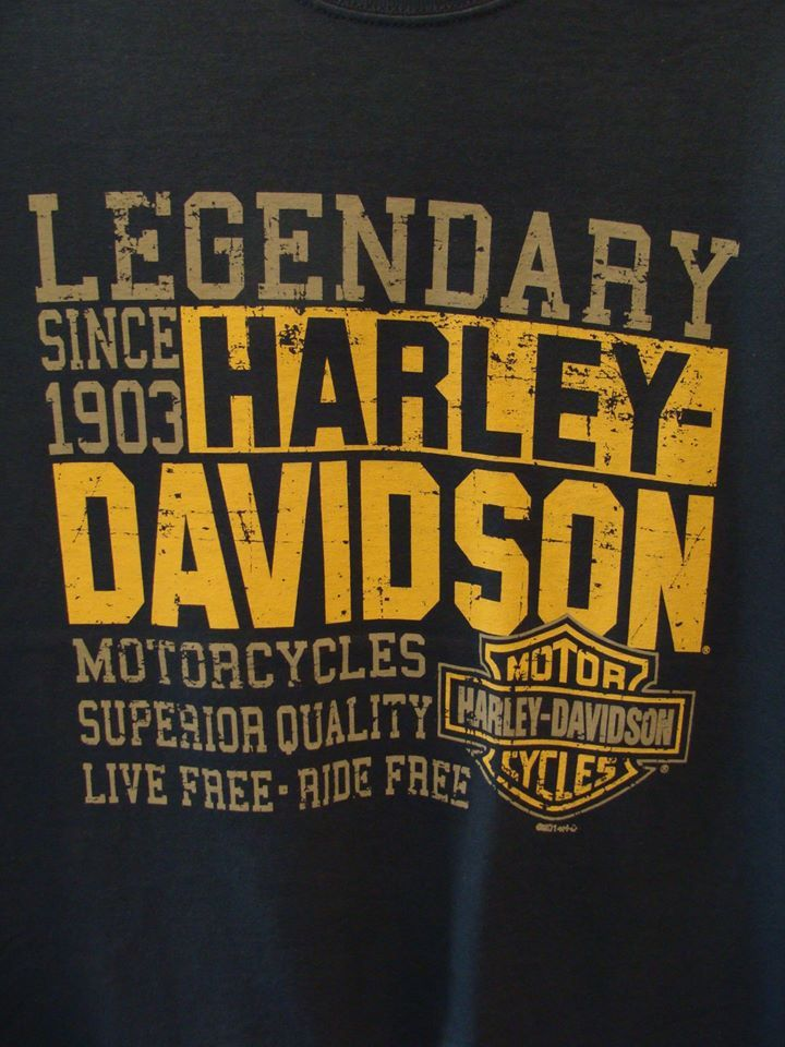 New Arrivals!! Apart from the Street 750 that will hit the Lowveld in a few day's time, a selection of Tee's with the Big Five back print recently arrived.  Email julia@bigfiveharley.co.za #bigfiveharley #harleydavidson #harleymerchandise #B5HD