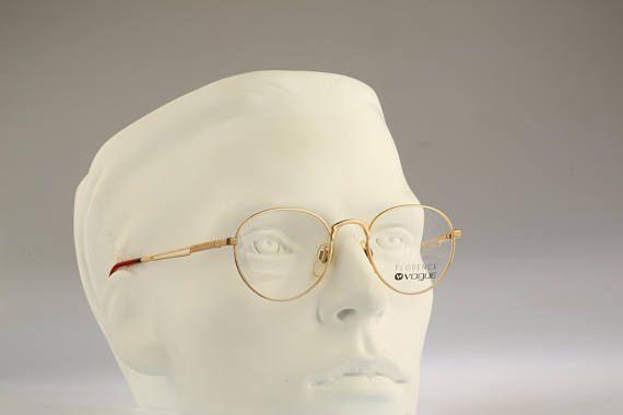 6225ae00a93 Florence Vogue VO 3189 280 Vintage round eyeglasses 90s Rare