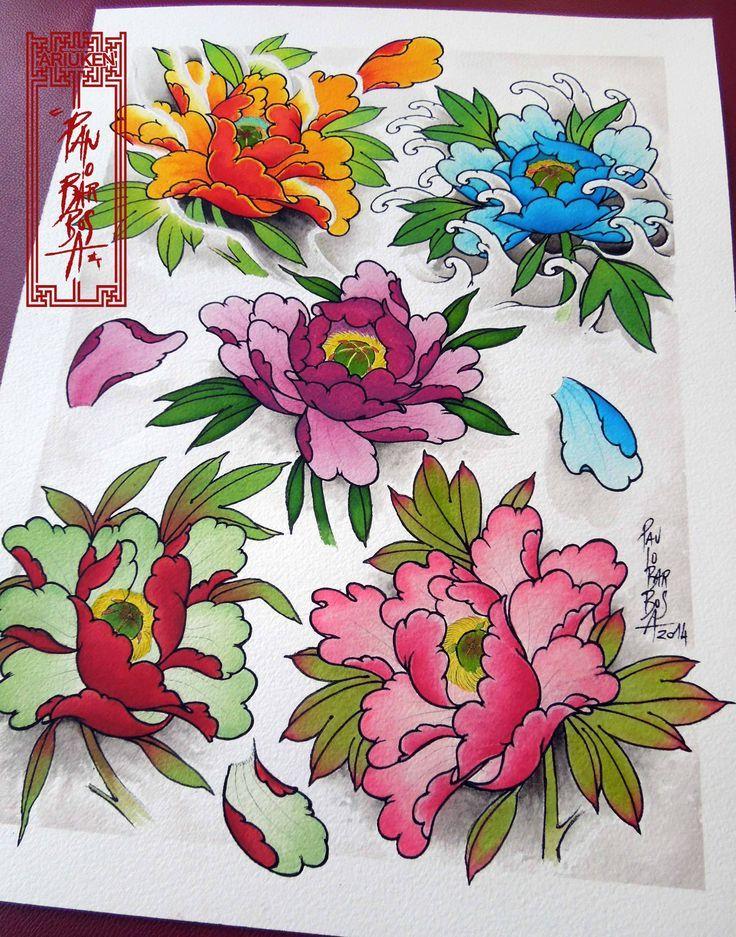 818 best japanese sketchbook images on pinterest japan for Japanese tattoo flash