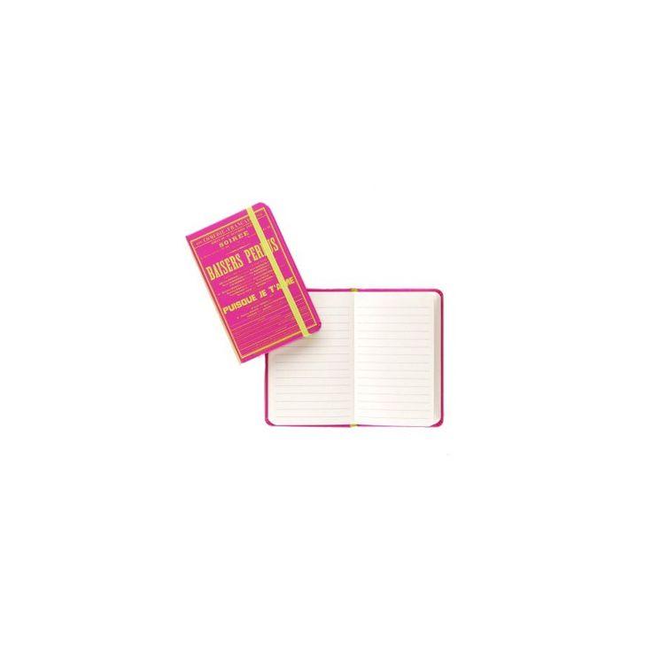 Carnet de notes - Baisers Perdus - Collection Affiches