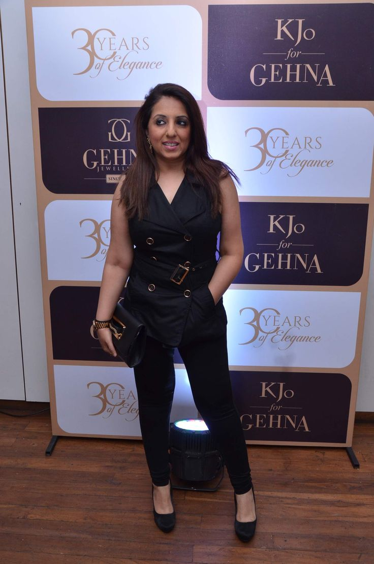 Munisha Khatwani  #GehnaTurns30 #KjoForGehna #Bollywood #Celebrities #Jewellery
