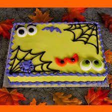 Halloween und süße 16-Blatt-Kuchen – Google-Suche   – Sheet Cakes