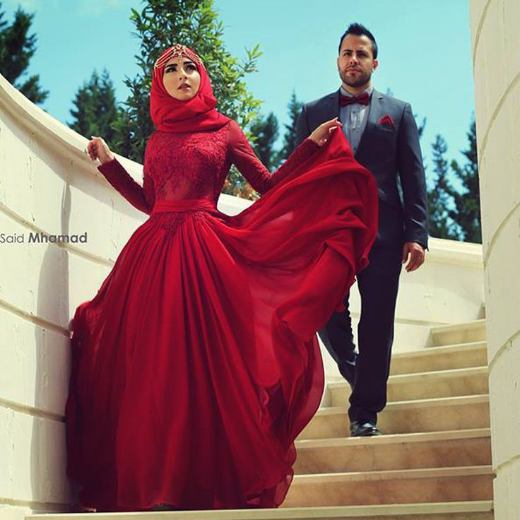 Find More Bridesmaid Dresses Information about Muslim Drak Red A Line High Neck Long Sleeve Lace Bridesmaid Dresses 2015 Bow Back Long Maid of Honor Gowns Party Prom BR21,High Quality dress flow,China dresses fashion Suppliers, Cheap dress kate from LaceBridal on Aliexpress.com