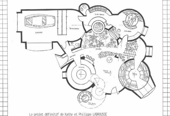 maison fonctionnelle de katy et philippe maisons bulle pinterest. Black Bedroom Furniture Sets. Home Design Ideas